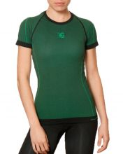 HG BLINK GREEN WOMEN MICRO-PIERCED SHIRT