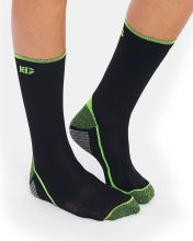 HG SPORT JAYA BLACK GREEN TECHNICAL SOCKS