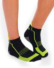 HG SPORT NUBLO BLACK GREY TECHNICAL SOCKS
