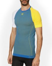 HG BLINK BLUE YELLOW SHORT SLEEVE SHIRT