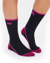 HG JAYA BLACK FUCHSIA TECHNICAL SOCKS