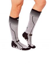 HG SPORT VINSON GREY BLACK SOCKS