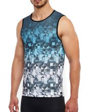 CAMISETA MICROPERFORADA HG SPIKE AZUL