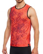 HG SPORT SPIKE ORANGE MICRO-PIERCED SHIRT