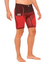 HG SPORT ADAMAS BLACK RED SHORTS