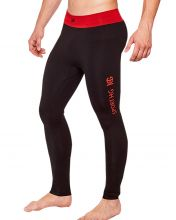 HG SPORT HGHOLSTEIN BLACK RED LEGGINGS