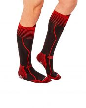 HG SPORT VINSON BLACK RED TECHNICAL SOCKS