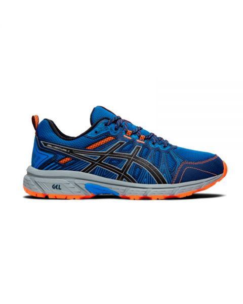 Asics Gel-Venture 7 blue orange - Trail