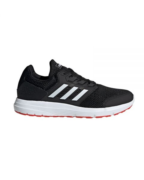 llave inglesa bar trabajo  Adidas Galaxy 4 black white - Great comfort