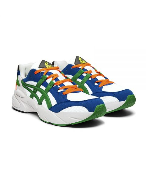 ASICS GEL BND WHITE GREEN 1021A145 100