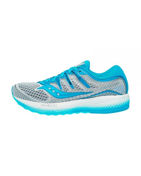 SAUCONY TRIUMPH ISO 5 BLANCO AZUL MUJER S10462 36