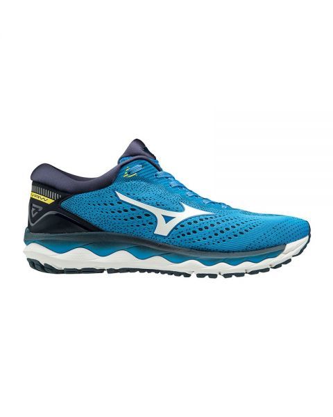 MIZUNO WAVE SKY 3 BLUE J1GC1902 01