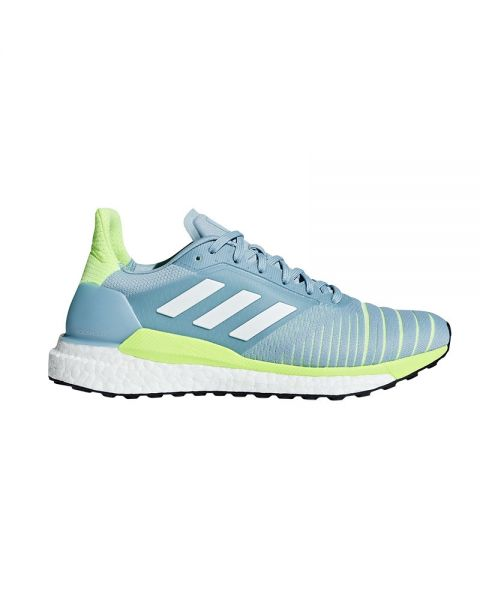 ADIDAS SOLAR GLIDE MUJER GRIS AMARILLO FLUOR MUJER D97427
