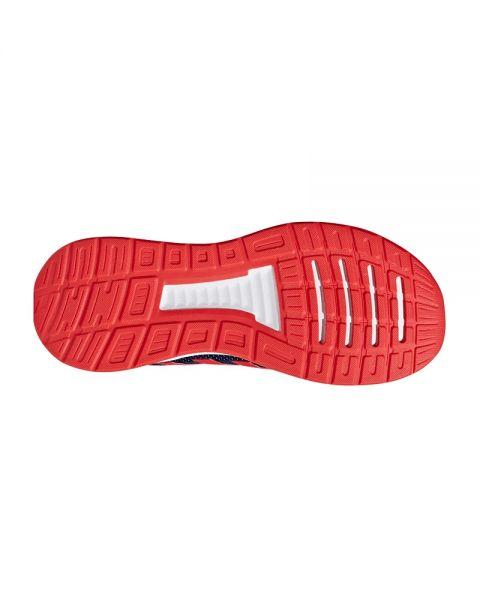 difícil Falsificación Repetido  ADIDAS RunFalcon azul marino rojo - Confort en tus pisadas