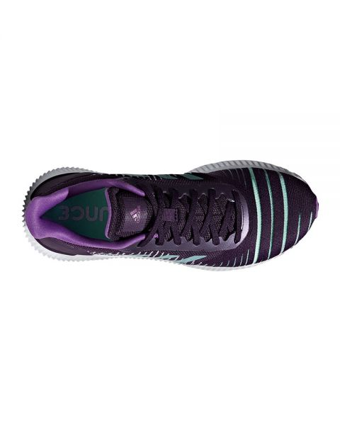 Caramelo Despertar dolor  Adidas Solar Ride purple lilac women - Fastening and support for ...