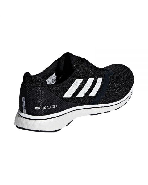 premium selection e728a e3882 ADIDAS ADIZERO ADIOS 4 BLACK WHITE WOMEN B37377