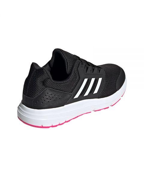 Persuasivo Contribuyente perspectiva  Adidas Galaxy 4 black white pink women - Maximum speed for her