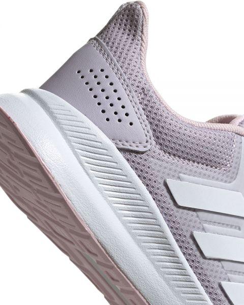 Cap Clip mariposa exagerar  Adidas Runfalcon lilac women - Feminine running