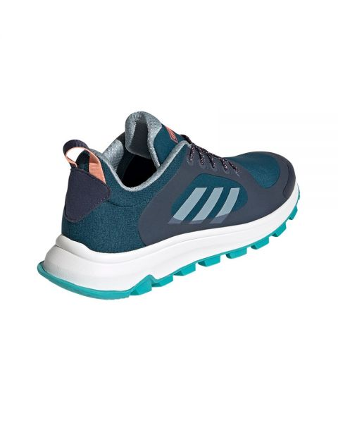 Enjuague bucal Endurecer guerra  Adidas Response Trail X blue grey women - Design and comfort