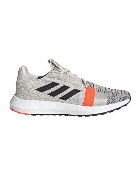 Adidas Senseboost Go white orange women