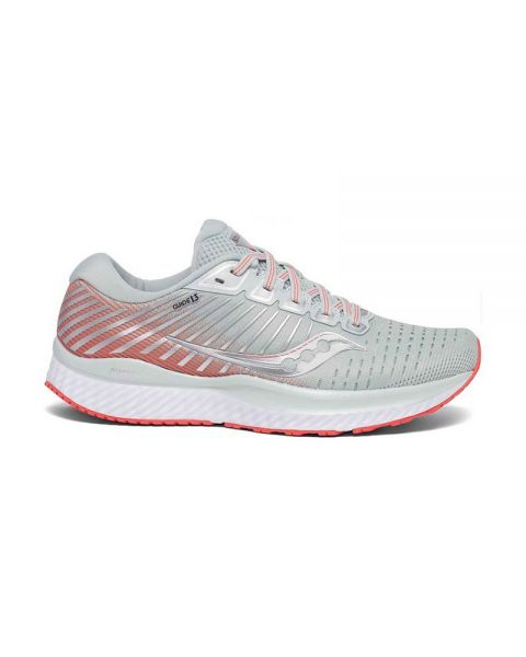 SAUCONY GUIDE 13 CORAL GREY WOMAN