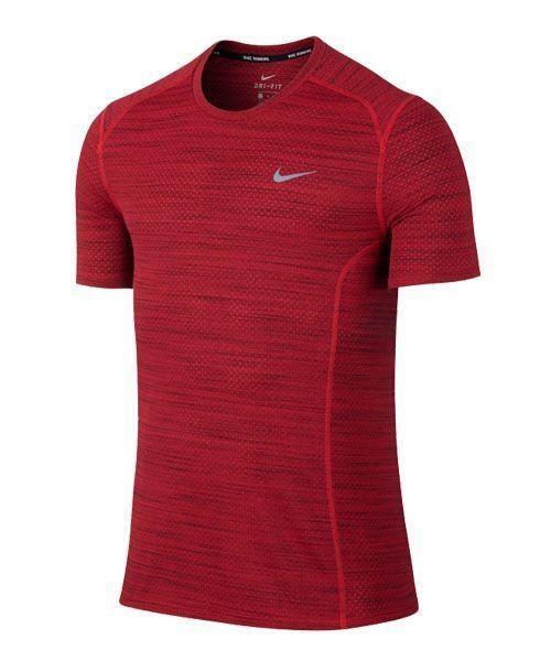 ventas especiales venta de liquidación en venta al por mayor Camiseta Nike Cool Miler roja | Camiseta roja