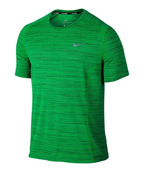 333633fa0452f Camiseta Nike Cool Miler verde