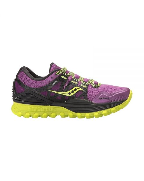 saucony trail mujer amarillo