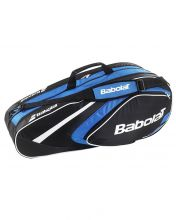 RAQUETERO BABOLAT RACKET HOLDER 3 RAQUETAS CLUB AZUL