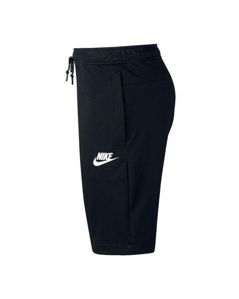 Nsw Corto Y Flc Pantalon Nike Negro Blanco Av115 N861748 Hombre m8n0wN
