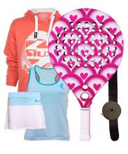 PACK AGATHA PINK HEARTS AND OUTFIT