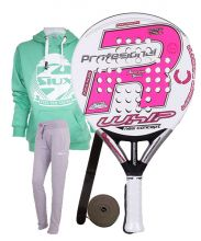 PACK ROYAL PADEL RP 790 WHIP WOMAN 2016 UND OUTFIT SIUX