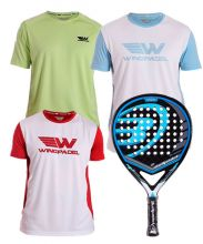 PACK BULLPADEL BLACK DRAGON AND WINGPADEL SHIRTS