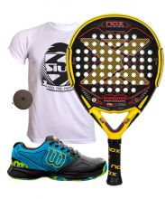 PACK NOX MAGMA, WILSON DEVO PADEL SHOES AND SIUX SHIRT