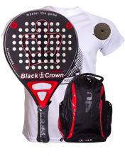 PACK BLACK CROWN MORTAL ET SAC A DOS SIUX DIABLO ROUGE