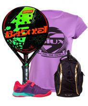 PACK BABOLAT DEFIANCE CARBON AND BABOLAT PROPULSE 17 WPT WOMEN PADEL SHOES