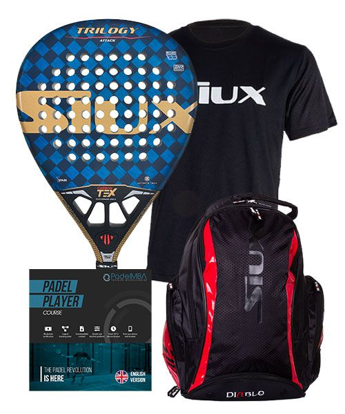 PACK SIUX TRILOGY ATTACK AND AND PADEL MBA COURSE
