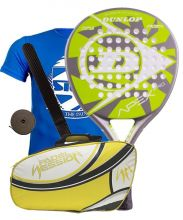 PACK DUNLOP APEX PRO AND PADEL SESSION PREMIUM PADEL RACKET BAG