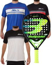 PACK BULLPADEL HACK 20 Y 3 CAMISETAS SIUX
