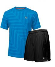 PACK WILSON RUSH 9 WOVEN SHORTS AND BLUE SHIRT
