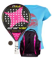 PACK STAR VIE R9.2 DRS CARBON SOFT FUCHSIA AND SIUX FIABLO FUCHSIA BACKPACK