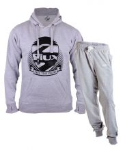 SIUX OUTFIT PREMIUM GREY SWEATSHIRT AND FURTIVE GREY SWEATPANTS