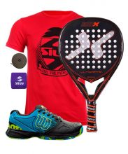 PACK NOX ULTIMATE LEGEND AND WILSON DEVO PADEL SHOES