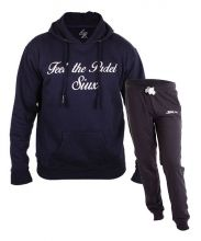 SIUX OUTFIT CLASSIC NAVY SWEATSHIRT AND FURTIVE NAVY SWEATPANTS