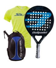 PACK BULLPADEL SKY BLUE AND VISION BACKPACK