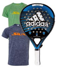 PACK ADIDAS FASTER BLUE 1.9 Y CAMISETAS SIUX