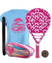 PACK AGATHA HAPPY JUNIOR AND HEART RELIEF PADEL RACKET BAG