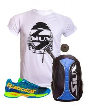 PACK BABOLAT JET BLUE AND SIUX TRAIL BLUE BACKPACK