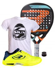PACK BULLPADEL VERTEX 2 2018 AND VERTEX PADEL SHOES