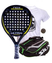 PACK NOX ULTRA CARBON AND SIUX MASTERCOMBI GREEN PADEL RACKET BAG